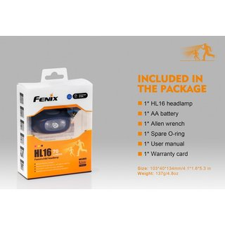 Fenix HL16 LED Stirnlampe